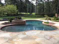 Midnight Blue Pebble Tec Pool Design Ideas, Pictures, Remodel, and Decor - page 4