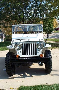 1948 Willys CJ-2A - Photo submitted by Leif Hubbard.