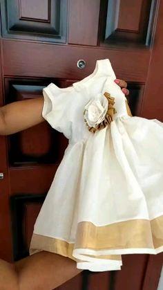 Girls Frock Design, Baby Dress Design, Kids Frocks Design, Baby Frocks Designs, Baby Girl Frocks, Baby Girl Party Dresses, Dresses Kids Girl, Kids Dress Wear, Kids Gown