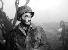 """BEST SUPPORTING ACTOR NOMINEE: Robert Mitchum for """"The Story of G.I. Joe""""."""