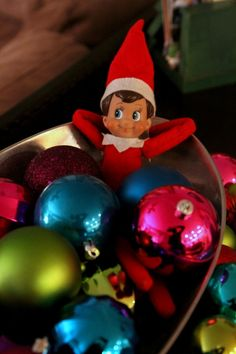 A Month of Elf On A Shelf Ideas