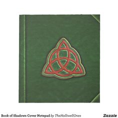 Book of Shadows Cover Notepad