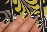 Nail Art inspired by Vera Bradley's Baroque pattern -- I love this!!!
