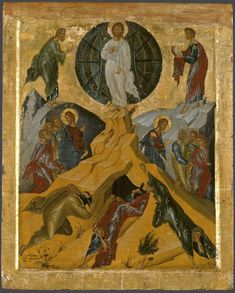 Преображение The Transfiguration, Houses Of The Holy, Google Art Project, Byzantine Art, Religious Icons, Orthodox Icons, Sacred Art, Art Google, New Art