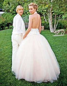 Portia's tulle is my dream without the pink