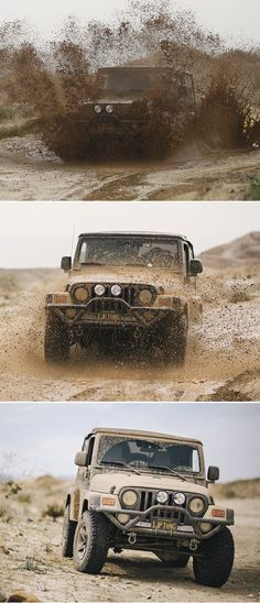 Spring time rains bring mud fun in the Anza Borrego Desert. It's a Jeep Thing! Photos courtesy of Justin Garvin