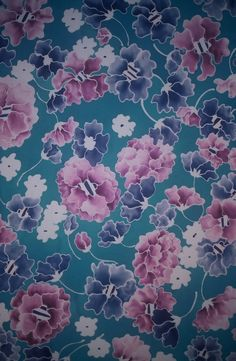glmorrissilks.com surface pattern hand painted on silk by gl morris
