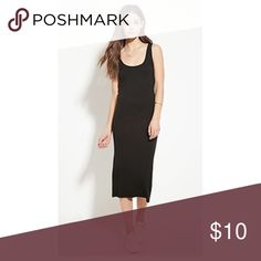 Black body con dress Not worn, just bought size small from Forever 21 Forever 21 Dresses Midi