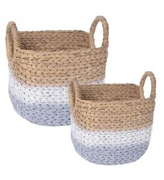 S_2 WATER HYACINTH BASKET IN GREY_NATURAL COLOR 39X33X30_37