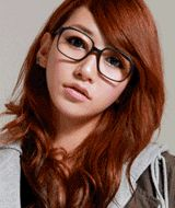 preppy square plastic frame clear glasses  CODE: QN23186  Price: SG $35.05 (approx US $28.27)