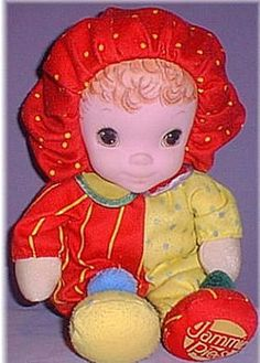 Searching – Jammie Pies WINKUM RED & YELLOW BLONDE DOLL
