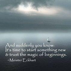 Love Incantation (day 8) I gratefully accept the magic of beginnings. I embrace