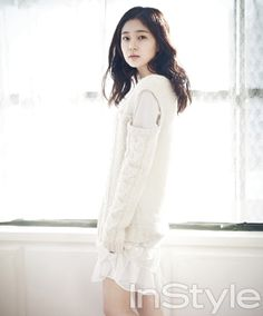 Baek Jin Hee - InStyle Magazine April Issue 13