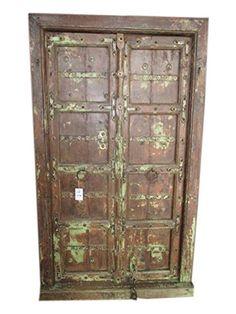 Moroccan Doors Hand Carved Reclaimed Teak Wood Door & Frame Mogul Interior http://www.amazon.com/dp/B015R9I0XC/ref=cm_sw_r_pi_dp_zretwb08JYSJY