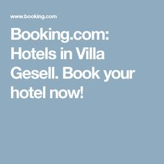 Booking.com:  Hotels in Villa Gesell.  Book your hotel now!