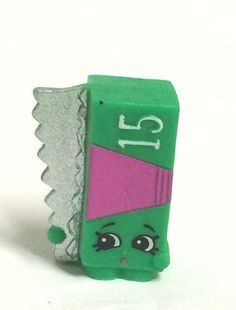 Shopkins Season 2 Green Al Foil 074 HTF ~Loose #MooseToys