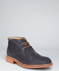Tod's - thick sole chukkas