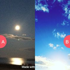 Night or Day? Click here to vote @ http://getwishboneapp.com/share/15326487