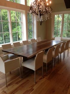1AA. Ohio Beauty - contemporary - dining tables - philadelphia - Jeffrey Greene Design Studio