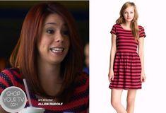 Awkward: Season 3 Episode 13 Tamara's Pink Striped Dress