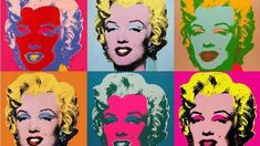 American Pop Art described - in quotes of Andy Warhol & Roy Lichtenstein + images - resource for students, pupils and art-teachers . The artist-quotes . Pop Art Marilyn, Andy Warhol Marilyn, Andy Warhol Pop Art, Andy Warhol Portraits, Andy Warhol Quotes, Marilyn Monroe Painting, Andy Warhol Museum, Jasper Johns, Robert Rauschenberg