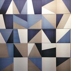 Pennellate geometriche #bardelli #ceramics #cersaie2015 #interior #design #madeinitaly #project by alessiasilvi