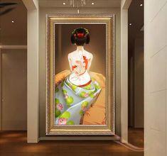 papier peint personnalisé style japonais-jeune fille japonais