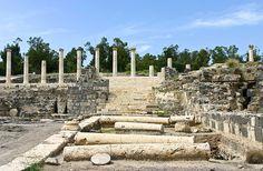 Ruins of an ancient city of Scythopolis - Beit-Shean, Israel by Yan Vugenfirer, via Flickr