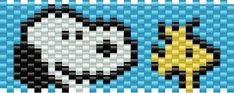 Snoopy Kandi Pattern