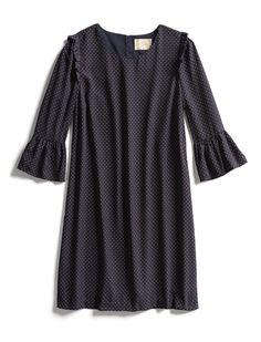 Stitch Fix Fall Stylist Picks: Ruffled Shift Dress