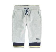 Hugo Boss Baby Boys Grey Sweatpants