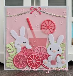 Baby Bunnies, Bunny, Marianne Design, General Crafts, Love Cards, Projects To Try, Card Making, Kids Rugs, Baby Shower