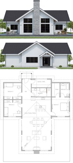 Home Plan, House Plan, Floor Plan, Architecture, New Home Plan