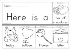 7 Valentine's Day Sight Word Flip Books (color and black and white). Includes a recording sheet for each booklet so kids can write their favorite sentences. Great paper saving alternative to traditional readers!