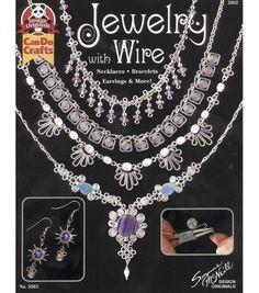 Design Originals Book-Jewelry With Wire Book Jewelry, Metal Jewelry, Jewelry Crafts, Beaded Jewelry, Handmade Jewelry, Wire Jewellery, Jewelry Tools, Jewlery, Bijoux Wire Wrap