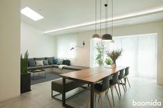 Wood Table, Dining Table, Interior Styling, Interior Design, Dinner Room, Kitchen Fixtures, Decoration, Interior Architecture, Kitchen Design