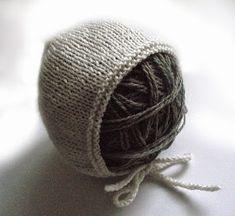 tru-knitting: Самый простой чепчик для малышей. Пошаговый МК с фото.