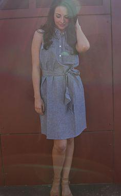 Marley Shirtdress - Chambray