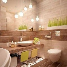 Bathroom interior design trends 2018 people are increasingly looking to bring vacation vibes into their bathrooms Bathroom Tile Designs, Bathroom Design Small, Modern Kitchen Design, Bathroom Interior Design, Bathroom Ideas, Bathroom Wall, Bathroom Storage, Room Interior Colour, Cuisines Design