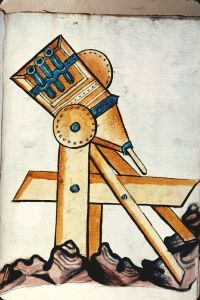 Bellifortis / Konrad Kyeser. - Machine de guerre (à préciser)