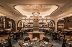 Swift & Sons Dining Room Restaurant Lounge, Bar Lounge, Restaurant Interior Design, Modern Interior Design, Restaurant Ideas, Restaurant Booth, Classic Interior, Design Interiors, Fulton Market