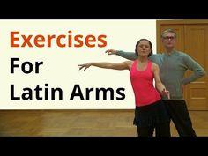 Basic Arm Exercises for Latin Dancing - YouTube