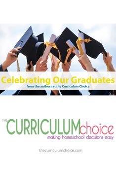 Graduation is nearly upon us and like most families with seniors, homeschool families are giving thought to graduation parties and activities to honor our graduates. Here are ideas for celebrating homeschool graduates from our team of authors. High School Curriculum, Graduation Parties, Cap And Gown, Authors, Homeschooling, Celebrations, Families, Activities, Thoughts