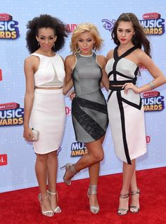 Summer Reign, Millie Thrasher and Celine Polenghi of Sweet Suspense - Best of 2015: Red Carpet Gowns - Photos