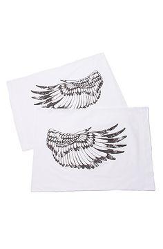 The Eagle Wings Pillowcase Set by THE RISE AND FALL