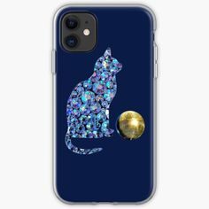 'Disco cat and disco ball' iPhone Case by StefaniaAlina Iphone 11, Iphone Cases, Disco Ball, Cat Gifts, My Arts, Art Prints, Type, Printed, Cats