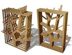 SFA Cardboard Shelf on Behance