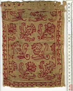 1639 England. Embroidered book cover for Holy Bible.   The British Library - Database of Bookbindings - Full Image