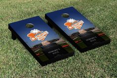 NCAA Clemson Tigers Palmetto Series Version Cornhole Game Set