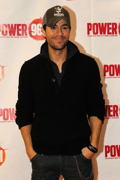 Power 96.1's Jingle Ball 2012 - Press Room           Singer Enrique Iglesias attends Power 96.1's Jingle Ball 2012 at the Philips Arena on December 12, 2012 in Atlanta.